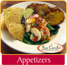 Appetizers Joe Caribe