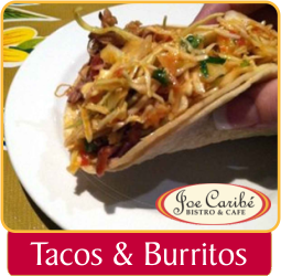 Tacos & Burritos - Joe Caribe